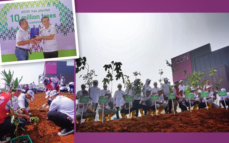 Komitmen Aeon Mall Indonesia Untuk Menghijaukan Lingkungan