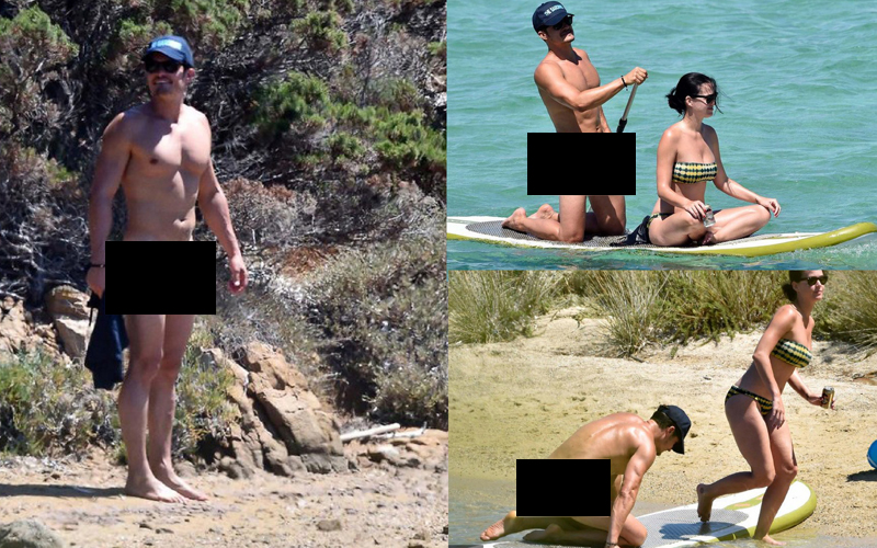 HebohNet: Foto-foto Liburan Orlando Bloom dan Video Rise ... Orlando Bloom Paddle Boarding