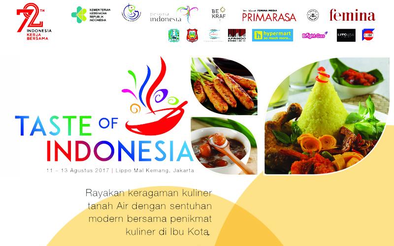 Pencinta Kuliner Nusantara Jangan Lewatkan Event Taste Of Indonesia