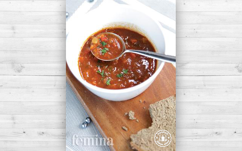 Resep Deftige Gulaschsuppe Sup Tomat Khas Jerman