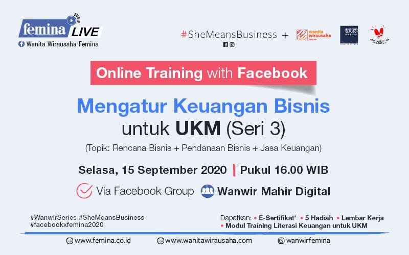 Facebook Training Gratis Mengurus Keuangan Bisnis Untuk Ukm Seri 3