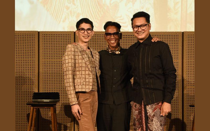 Oscar Lawalata, Edward Hutabarat and Denny Wirawan. Image: Femina/Image Dynamics