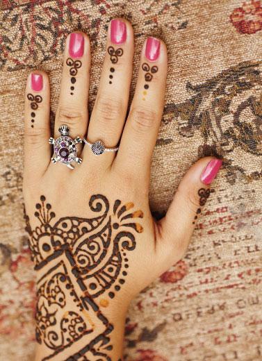 Warna Alami Henna