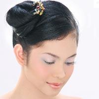 Tampil Cantik dengan Rambut Cepol