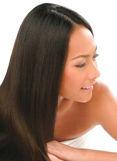 Rambut Lurus Seperti Model Shampoo