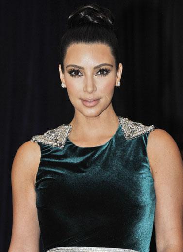 Rahasia Cantik Kim Kardashian