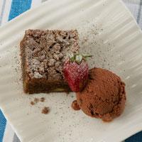 Cake Avokad Kopi Tabur Crumble