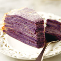 Ube Mille Crepes