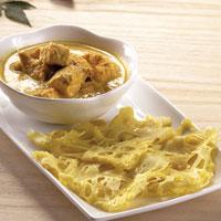 Roti Jala Kari Ayam