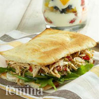 Shredded Matah Chicken Sandwich