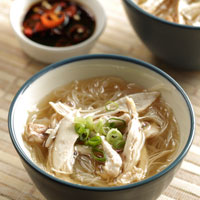 Soup with Rice Noodles