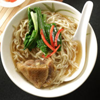 Egg Noodles With Duck