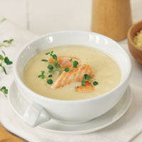 Sup Krim Kentang Salmon