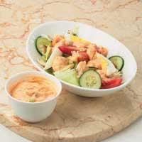 Salad Kepiting & Dressing Mayones