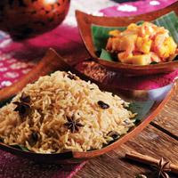 Nasi Minyak dan Sambal Nanas
