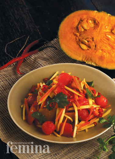 Spicy Pumpkin Salad
