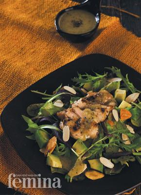 Chicken Salad With Aromatic Shallot