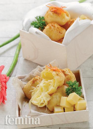 Fried Mozzarella Choux