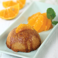 Mini Citrus Dome Cake