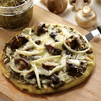 Pizza Empat Jamur