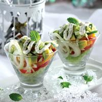 Avocado Paprika Salad