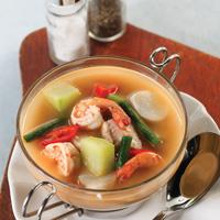 Sup Seafood Kuah Kacang