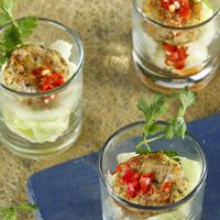 Fishcake Salad