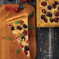 Berry Cream Cheese Pie