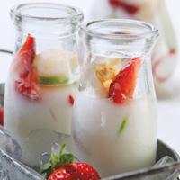 Strawberry Yoghurt Mocktail