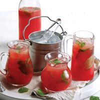 Lemon Watermelon Mocktail