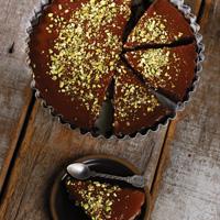 Caramel Brownie Tart