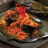 Pepes Ikan Patin Tempoyak