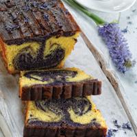 Lavender Marble Cake