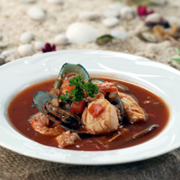 Sup Kerang Tomat