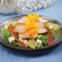 Salad Ayam Saus Mangga Kunyit