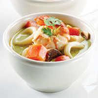 Sup Seafood Hijau