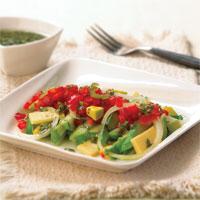 Salad Avokad Labu Siam