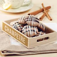Choco Cinnamon Meringue Cookies