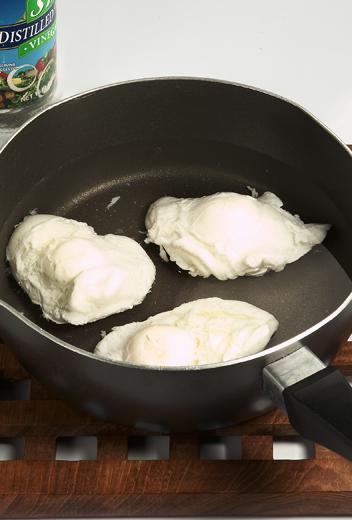 Membuat Telur Rebus Tanpa Kulit (Poach Egg)
