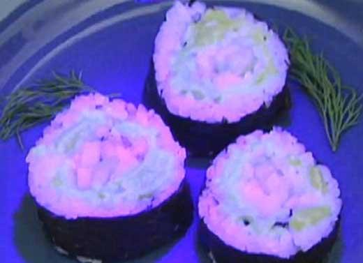 Sushi 'Menyala'