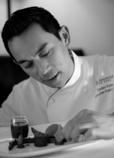 Deden Putra: Executive Pastry Chef, The Peninsula New York