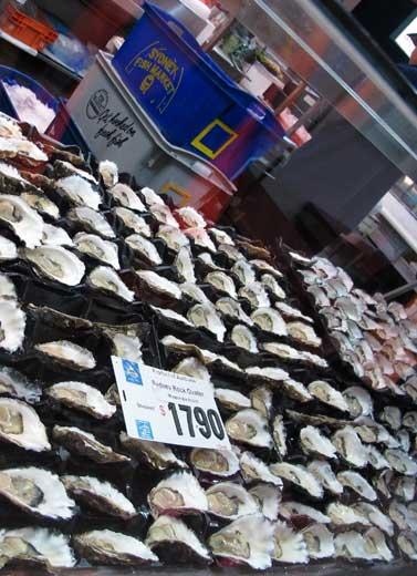 Suatu Pagi di Pasar Ikan Sydney