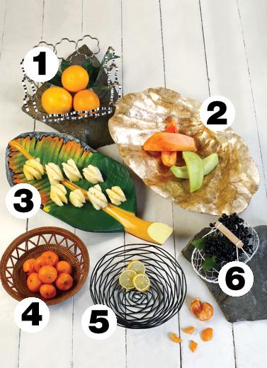 Colorful Fruit Basket