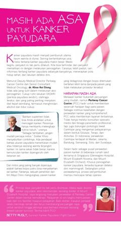 Masih Ada Asa untuk Kanker Payudara