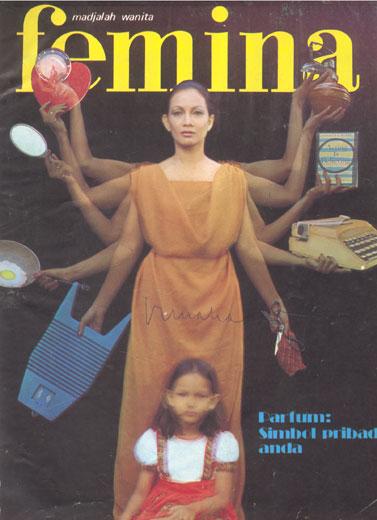 Di Balik Kisah Cover Femina Edisi Perdana