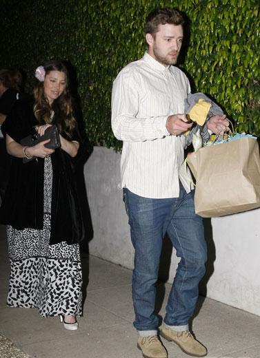 Kebahagiaan Justin Timberlake & Jessica Biel