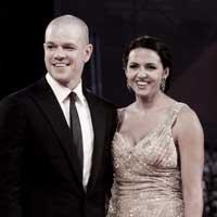 Cinta Telenovela Matt Damon dan Luciana