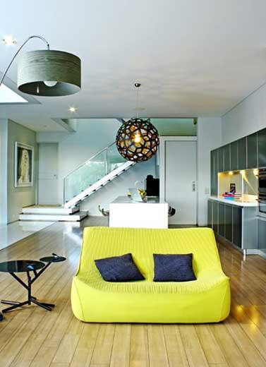Dekorasi Rumah Warna Terang, Kenapa Tidak?