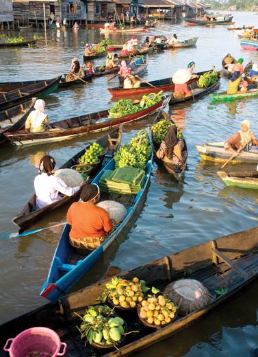 Indahnya Pasar Indonesia