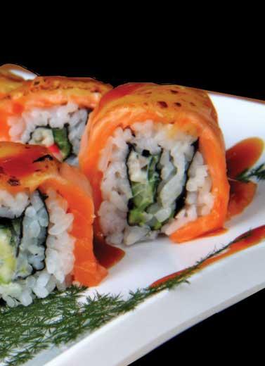 Uniknya Warung Sushi